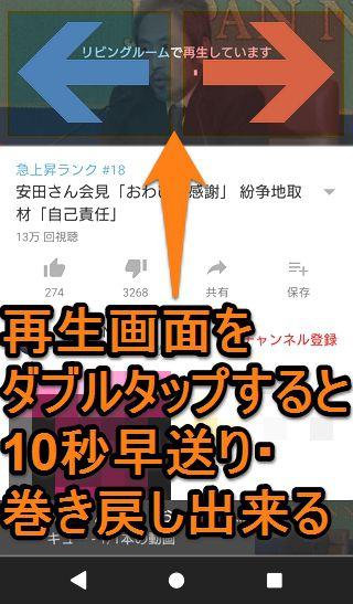 Chromecast(クロームキャスト)youtube 使い方